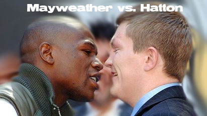 Floyd Mayweather and Rick Hatton odds