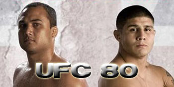 UFC 80 odds, UFC 80 betting image