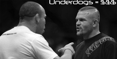 UFC betting underdogs