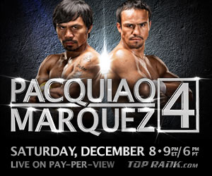 Pacquiao vs marquez 4 betting odds what is the best way to bet on sports