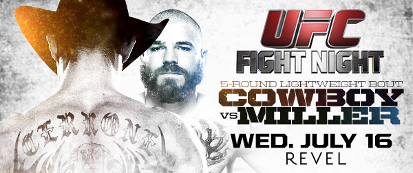 UFC Fight Night 45 Poster