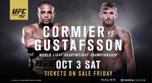UFC 192 Poster